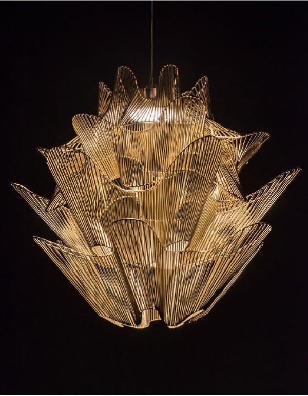 Moire,莫列波紋吊燈