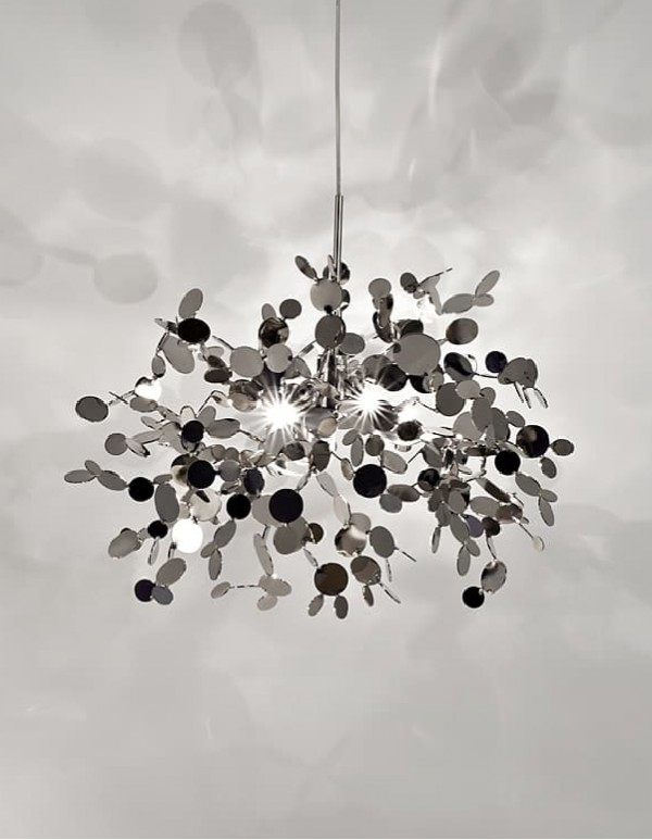 Argent,銀色雲吊燈(A)