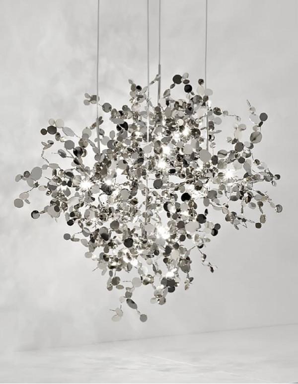 Argent,銀色雲吊燈(B)