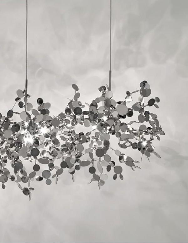 Argent,銀色雲吊燈(C)
