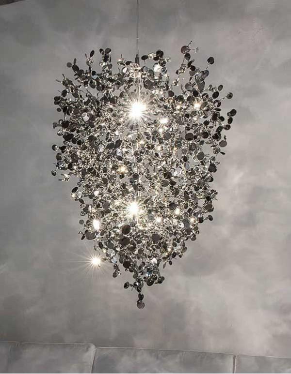Argent,銀色雲吊燈(E)