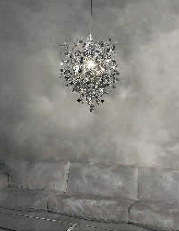 Argent,銀色雲吊燈(G)