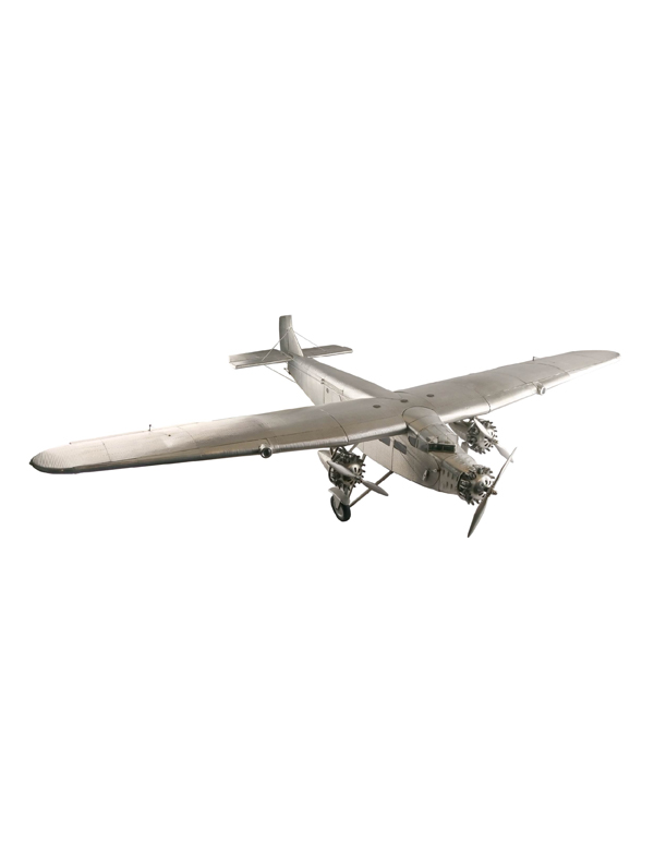 Ford Trimotor 鋁製福特定翼飛機模型