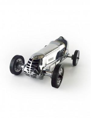 BB Korn 銀色平底微型賽車