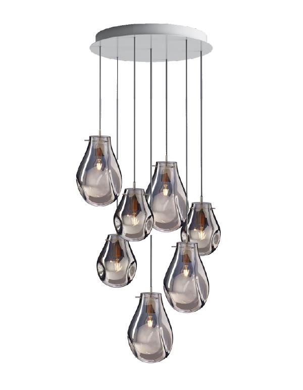 Soap chandelier 07 pcs