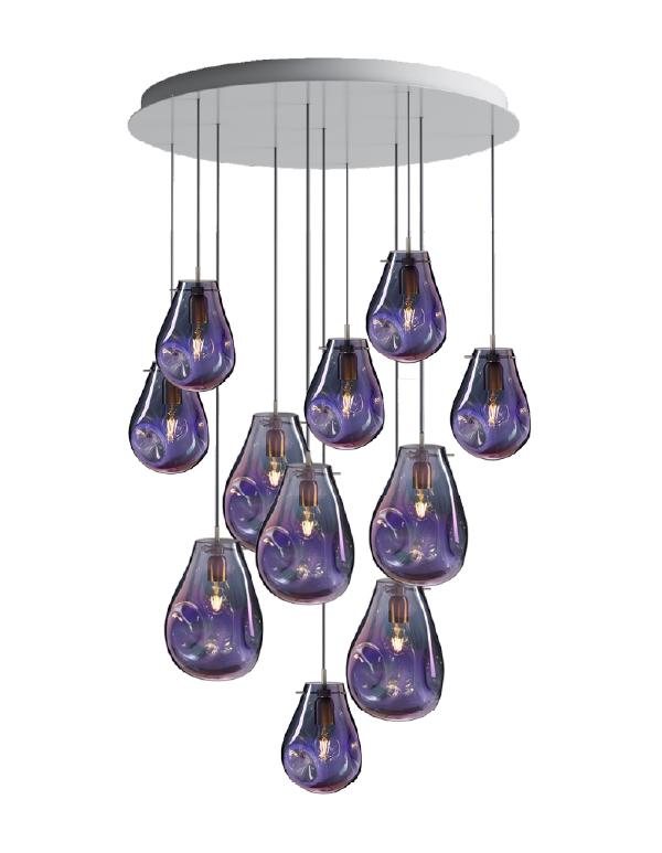 Soap chandelier 11 pcs