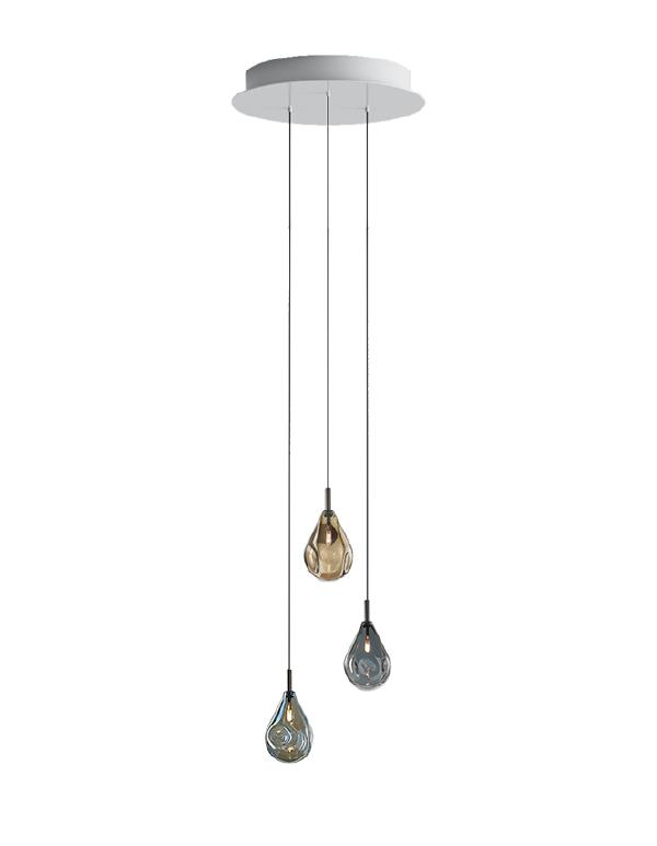 Soap mini chandelier 03 pcs
