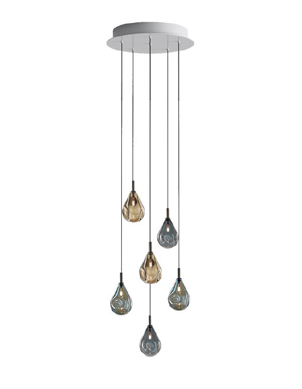 Soap mini chandelier 06 pcs
