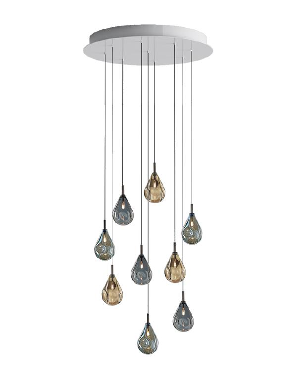 Soap mini chandelier 09 pcs