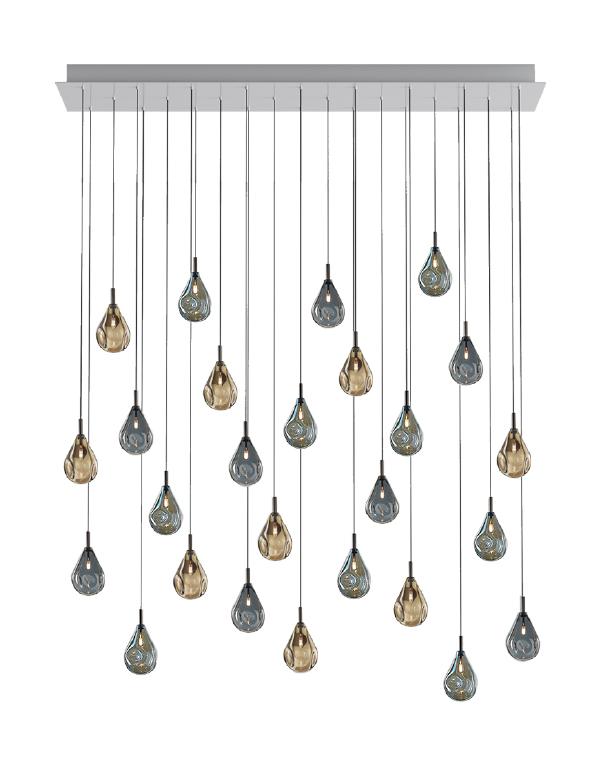 Soap mini chandelier 26 pcs