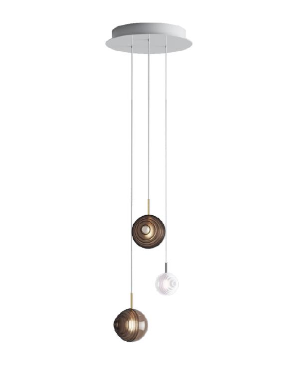 D&B Star chandelier 03 pcs