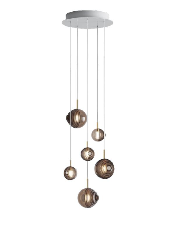 D&B Star chandelier 06 pcs