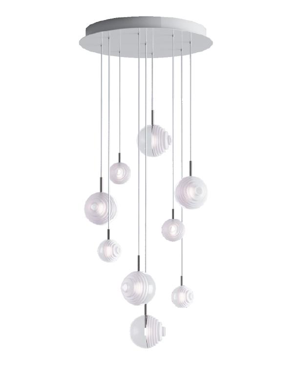 D&B Star chandelier 09 pcs