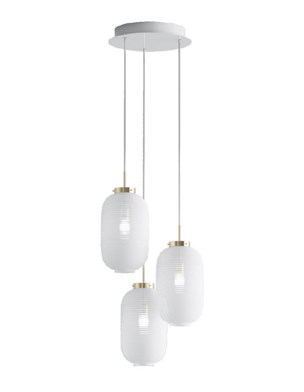 Lantern chandelier 03 pcs