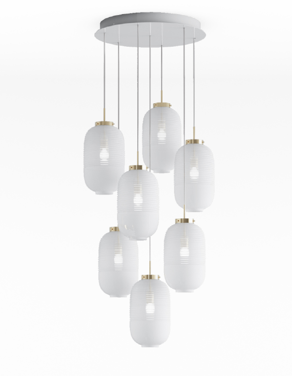 Lantern chandelier 07 pcs