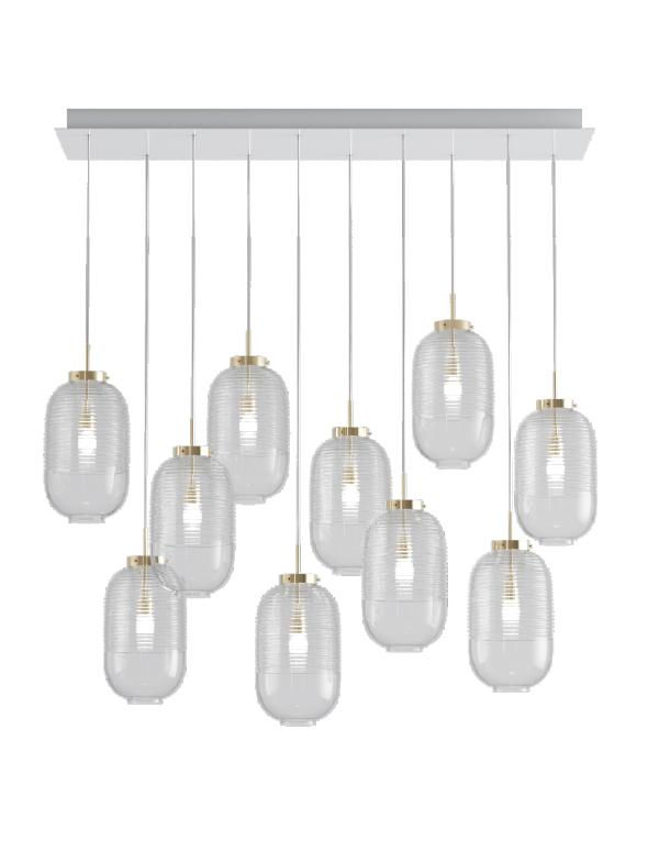 Lantern chandelier 10 pcs