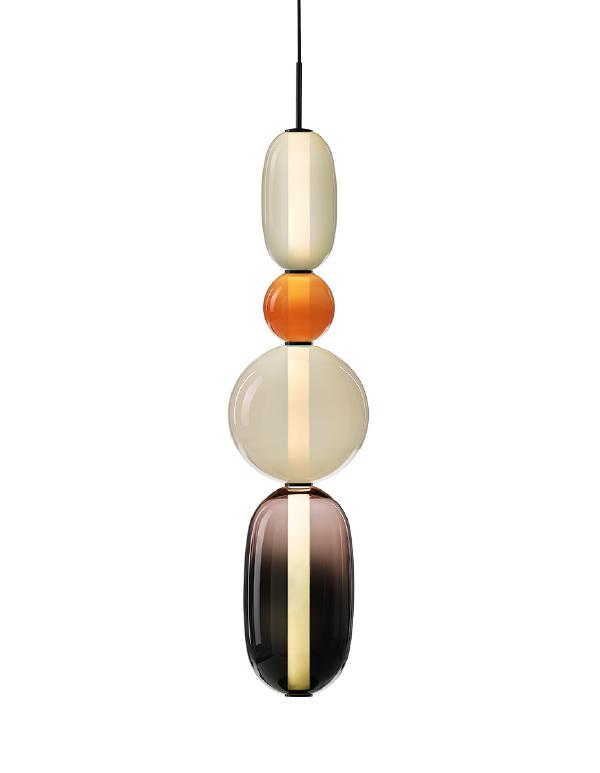 Pebbles pendant long