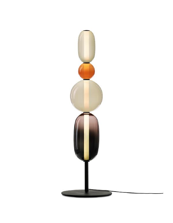Pebbles floor lamp long
