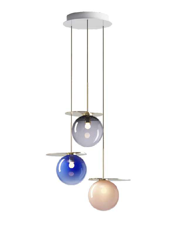 Umbra chandelier 3 pcs