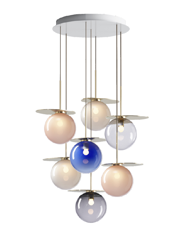 Umbra chandelier 7 pcs