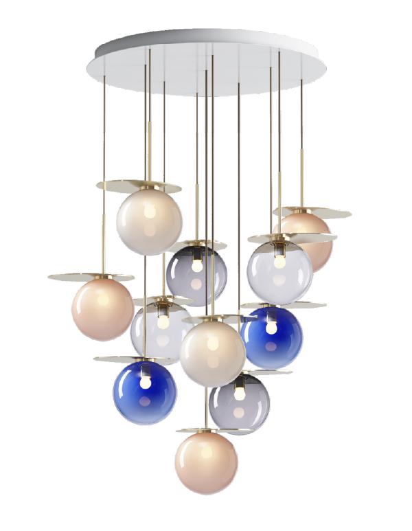 Umbra chandelier 11 pcs