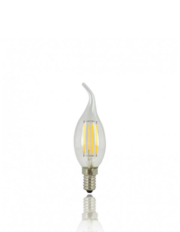 LED-C35拉尾燈絲燈泡 //E14 4W