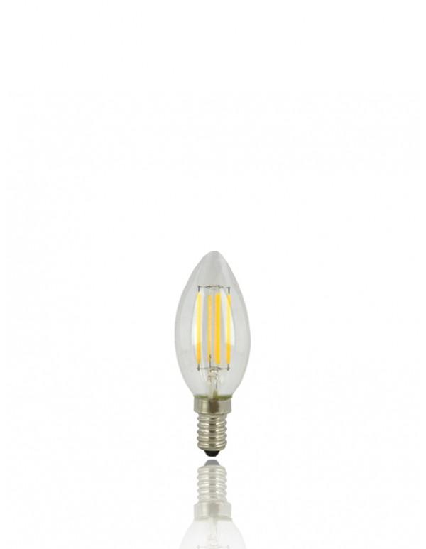 LED-C35尖頭燈絲燈泡 //E14 4W