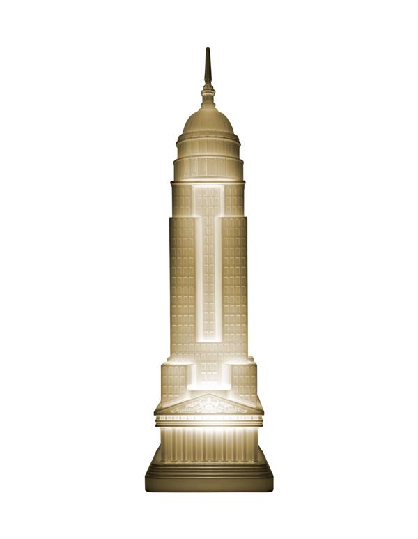 EMPIRE LAMP METAL FINISH
