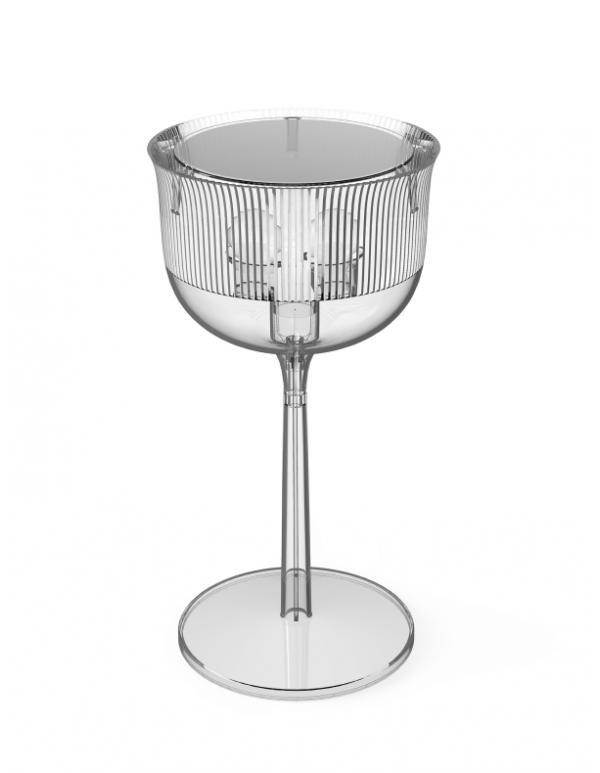 GOBLETS TABLE LAMP SMOKEY GREY MEDIUM