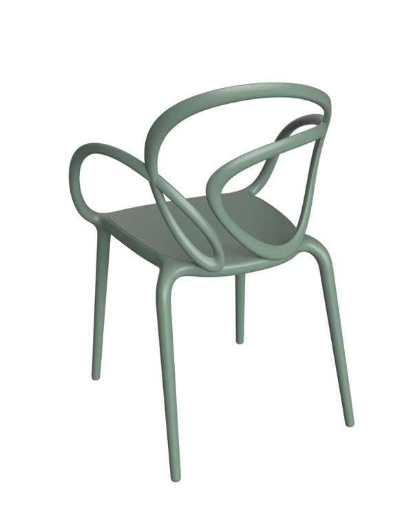 LOOP CHAIR WITHOUT CUSHION SET / X2