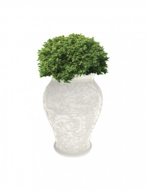 MING PLANTER AND CHAMPAGNE COOLER
