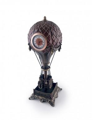 Balloon with Clock 龐克熱氣球鐘