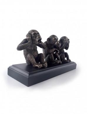 Three Wise Monkeys 三猿