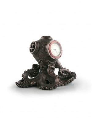 Octopus Diving Clock 蒸氣龐克章魚潛水鐘